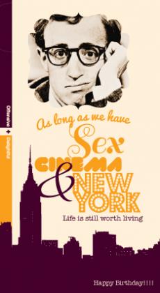 Happy Birthday Sex Cinema New York Nw43 Incognito
